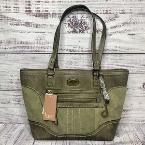 b.o.c. Trampton Tote | Bag | Purse | Olive Green